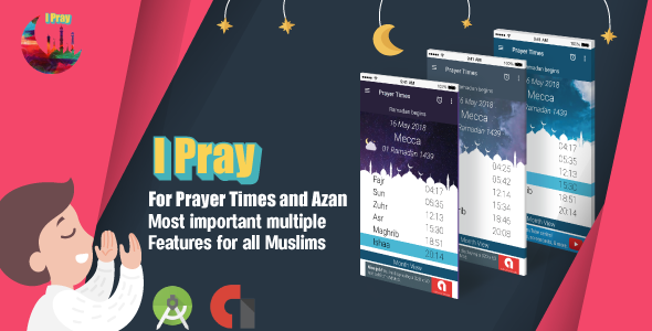 IPRAY for Muslims Prayer Times and Azan            Nulled