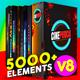 CINEPUNCH Video Creator Mega Bundle 5000+ Elements - VideoHive Item for Sale