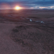 Icelandic Aerial of Horse Farm at Sunset 5 - VideoHive Item for Sale
