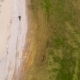 Aerial View of the Final Stage of the Enduro Extreme Race on the Seashore in . - VideoHive Item for Sale