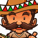Mexican Taco Guy - GraphicRiver Item for Sale