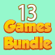 Bundle N°1 : 13 HTML5 GAMES (CAPX + HTML5) & 80% OFF - CodeCanyon Item for Sale