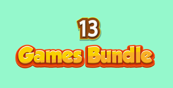 Bundle N°1 : 13 HTML5 GAMES (CAPX + HTML5) & 80% OFF            Nulled