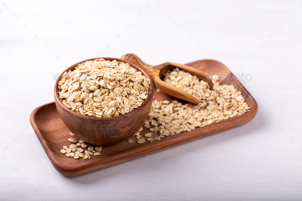 Oat meal - Stock Photo - Images