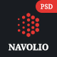 Navolio - Creative Agency PSD Template - ThemeForest Item for Sale