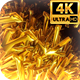 Gold Background 4k - VideoHive Item for Sale