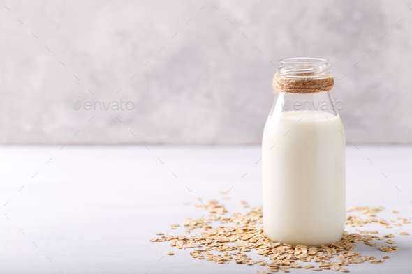 oat milk - Stock Photo - Images