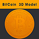 3D Model of BitCoin - 3DOcean Item for Sale