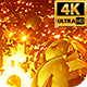Golden Glow 4k - VideoHive Item for Sale