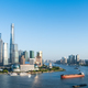 beautiful shanghai scenery on both sides of the huangpu river - PhotoDune Item for Sale