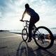 Riding bike on seaside  - PhotoDune Item for Sale