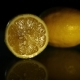 Two Very Beautiful Juicy Lemons on a Dark Surface - VideoHive Item for Sale