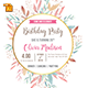 Birthday Party Invitation Template - Vol . 14 - GraphicRiver Item for Sale