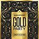 Gold Parry Flyer - GraphicRiver Item for Sale