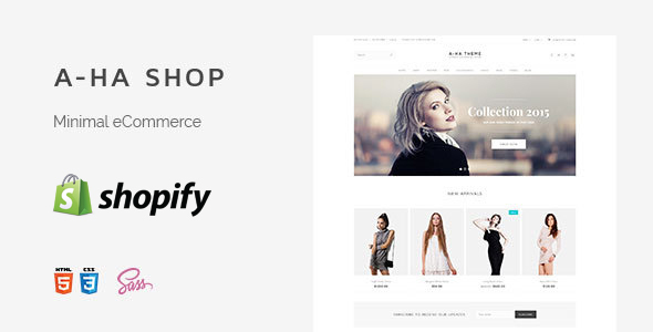 Image of A-ha Clean & Minimal Shopify Theme