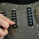 Man Lead Guitarist Playing Electrical Guitar - VideoHive Item for Sale