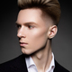 Side view portrait of thinking stylish young man - PhotoDune Item for Sale