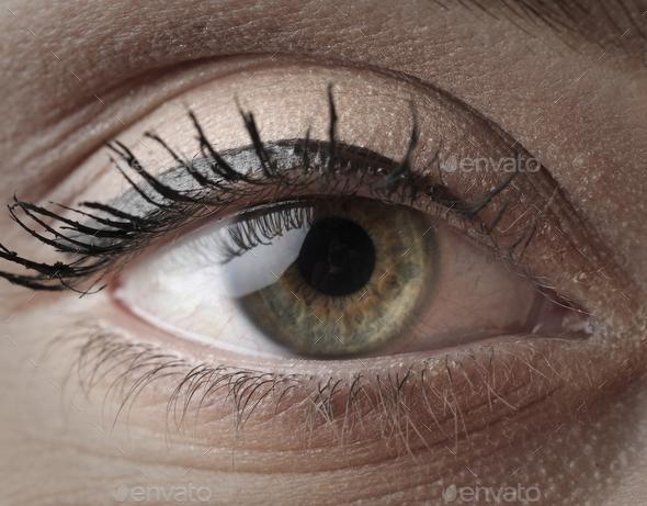 Green eye - Stock Photo - Images