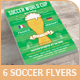 World Champ and Soccer / Football Events Flyer - GraphicRiver Item for Sale