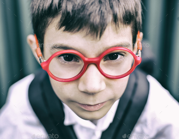 Portrait of a child - Stock Photo - Images