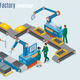 Isometric Industrial Factory Template - GraphicRiver Item for Sale