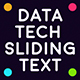 Data Tech Sliding Text - VideoHive Item for Sale