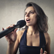 Woman singing  - PhotoDune Item for Sale