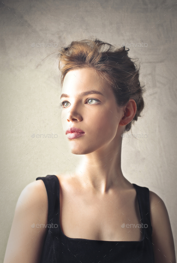 Portrait of a woman - Stock Photo - Images