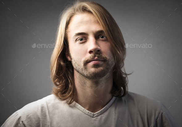 Portrait of a man - Stock Photo - Images