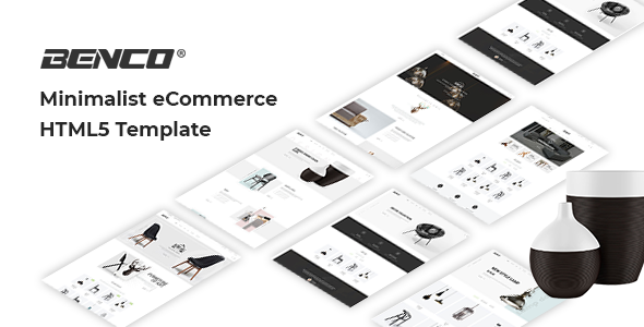 Benco - Furniture Bootstrap 4 HTML Template - Shopping Retail
