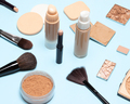 Make-up brushes and sponges with foundation makeup products - PhotoDune Item for Sale