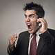 Angry businessman talking at the phone - PhotoDune Item for Sale