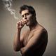 Man smoking a cigarette - PhotoDune Item for Sale