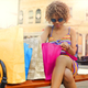 Girl with a lot of shopping bags - PhotoDune Item for Sale