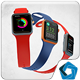 iWatch Mockup V.2 - GraphicRiver Item for Sale