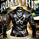 Motorcycle Road Trip Flyer Template V1 - GraphicRiver Item for Sale