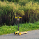 Three wheel adjustable height yellow scooter - PhotoDune Item for Sale