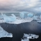 Jokulsarlon Glacier Lagoon, Fantastic Sunset on the Black Beach, Iceland - VideoHive Item for Sale