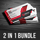 2 in 1  Business Card Bundle