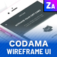 Codama iOS Wireframe UI Kit - ThemeForest Item for Sale