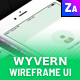 Wyvern iOS Wireframe UI Kit - ThemeForest Item for Sale