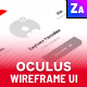 Oculus iOS Wireframe UI Kit - ThemeForest Item for Sale