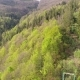 Flight Over the Forest with Lifts in the Mountains View of Ukrainian Carpathians - VideoHive Item for Sale