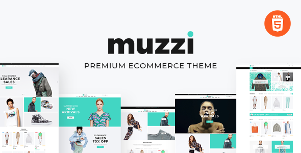 Muzzi – fashion store HTML template