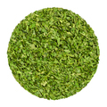 Dried parsley, herb circle from above, over white - PhotoDune Item for Sale