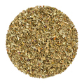 Dried basil, herb circle from above, over white - PhotoDune Item for Sale