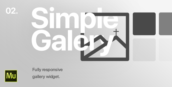 02 | Simple Gallery Widget for Adobe Muse CC            Nulled