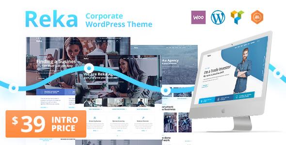 Image of Reka | A Trendy Business WordPress Theme