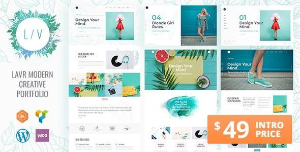 Lavr | A Contemporary Portfolio WordPress Theme