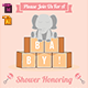 Baby Shower Template - Vol. 22 - GraphicRiver Item for Sale